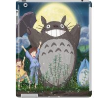 totoro umbrella iPad Case/Skin