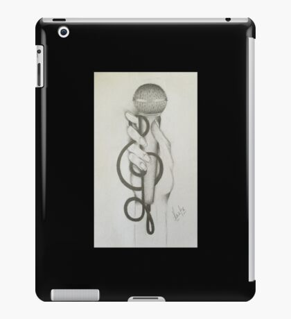 Grab the mic!! iPad Case/Skin