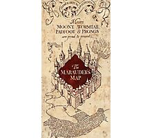 the marauders map77 Photographic Print