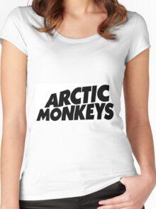 Arctic Monkeys Women's Fitted Scoop T-Shirt