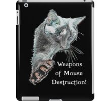Weapons of Mouse Destruction! iPad Case/Skin