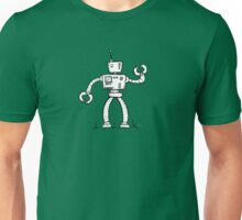 SHIFT the robot - white BG Unisex T-Shirt