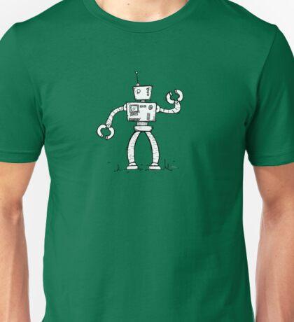 SHIFT the robot - white BG Unisex T-Shirt