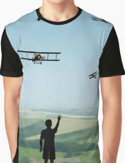 Childhood Dreams - The Flypast Graphic T-Shirt