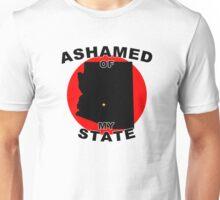 Ashamed Of My State- Arizona Unisex T-Shirt