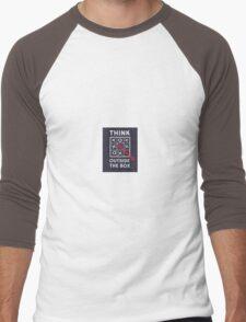 Think outside the box Men's Baseball ¾ T-Shirt