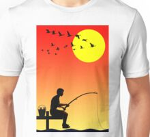 Childhood dreams, Fishing Unisex T-Shirt