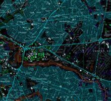 USGS TOPO Map New Jersey NJ Camden 254238 1967 24000 Inverted Sticker