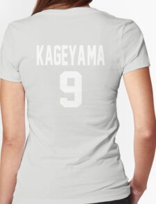 Haikyuu!! Jersey Kageyama Number 9 (Karasuno) Womens Fitted T-Shirt