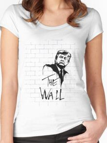 The Wall Women's Fitted Scoop T-Shirt