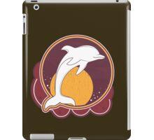 Dolphin Sun Orange iPad Case/Skin