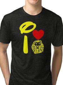 I Heart The Lion King (Gold) Tri-blend T-Shirt