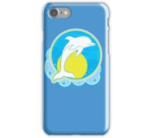 Dolphin Sun Yellow iPhone Case/Skin
