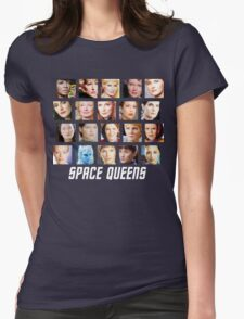 Space Queens Womens Fitted T-Shirt
