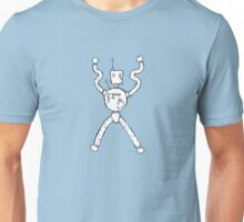 CONTROL the robot - white BG Unisex T-Shirt