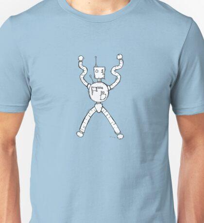 CONTROL the robot - white BG Unisex T-Shirt