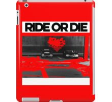 Ride or Die iPad Case/Skin
