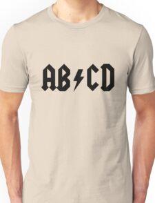 ACDC Alphabet Unisex T-Shirt