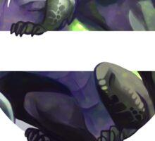 Agender Pride Dragon Sticker