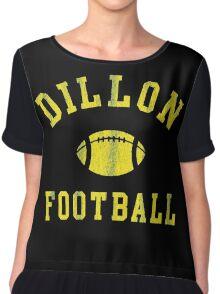 DILLON - Football Chiffon Top