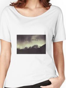 Shadow Mountains - Cloudy Italian Alps Women's Relaxed Fit T-Shirt