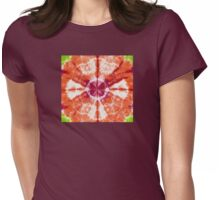 Mango Bloom Womens Fitted T-Shirt