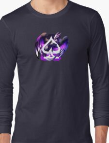 Asexual Pride Dragon Long Sleeve T-Shirt