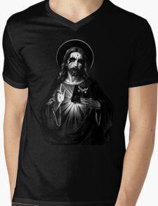 Kvlt Jesus Christ Mens V-Neck T-Shirt