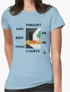 Parquet courts Womens Fitted T-Shirt
