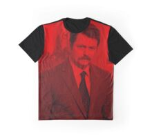 Ron Swanson - Celebrity Graphic T-Shirt