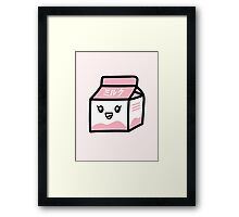 ミルク / Milk [Pink] Framed Print