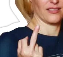 A Lovely FU from Gillian Anderson Sticker