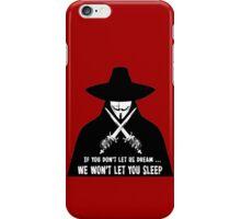 LET US DREAM iPhone Case/Skin