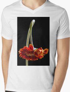 Death becomes her Mens V-Neck T-Shirt