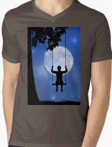 Childhood dreams, The Swing Mens V-Neck T-Shirt
