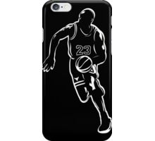 Michael Jordan - White iPhone Case/Skin