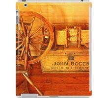Pioneer Parlour - Many A Yarn Spun Here iPad Case/Skin