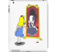 Madness through the looking glass iPad Case/Skin