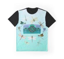 Radio Dragonfly Graphic T-Shirt
