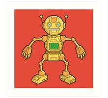 Robot 001 Art Print