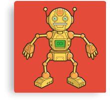 Robot 001 Canvas Print