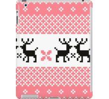 Cute Norwegian knitted pattern iPad Case/Skin