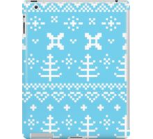 Traditional winter knitted pattern iPad Case/Skin