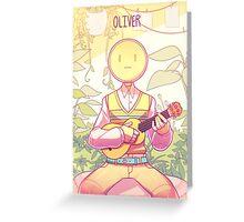Original - OLIVER Greeting Card