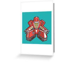 Robot 003 Greeting Card