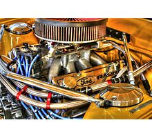 351 Ford powerplant. Photographic Print