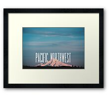 Pacific Northwest MT Hood Framed Print