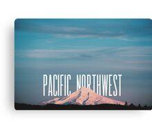Pacific Northwest MT Hood Canvas Print