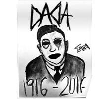 DADA CENTURY ANNIVERSARY TZARA #3 Poster