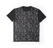 Web Black and White Graphic T-Shirt